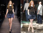 Jessica Chastain In Carven - Live! With Kelly