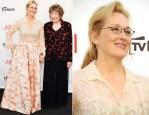 Meryl Streep In Valentino Couture - 40th AFI Life Achievement Award Honoring Shirley MacLaine