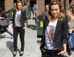 Olivia Wilde In Stella McCartney - Late Night with David Letterman