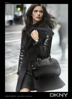 Ashley Greene For DKNY Fall 2012