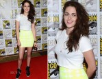 Kristen Stewart In BCBG - 'The Twilight Saga: Breaking Dawn Part 2' Comic Con Press Conference