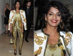 M.I.A. In Versace - Atelier Versace Fall 2012 Fashion Show