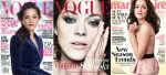Marion Cotillard Graces Three Covers For August 2012