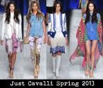 Just Cavalli Spring 2013