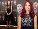 Ashley Greene In Erdem - 'Twilight Saga: Breaking Dawn – Part 2' South Africa Photocall