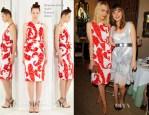 Jaime King In Giambattista Valli - CFDA/Vogue Fashion Fund Event