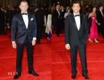 Daniel Craig In Tom Ford & Javier Bardem In Gucci - 'Skyfall' Royal Premiere