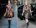 Kylie Minogue In Dolce & Gabbana - Out In London