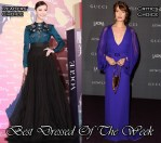 Best Dressed Of The Week - Ni Ni In Christian Dior & Florence Welch In Gucci