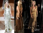 Kate Moss In Marc Jacobs - 'Kate: The Kate Moss Book' Launch Party