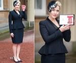 Kate Winslet In Alexander McQueen - Investiture Ceremony