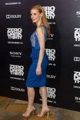 Jessica Chastain in Elie Saab