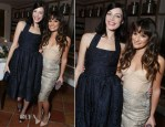 Lea Michele In Maria Lucia Hohan - Marie Claire's Hollywood Dinner