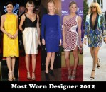 Most Worn Designer 2012 - Stella McCartney