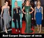 Red Carpet Designer of 2012 & Couturier of 2012 - Elie Saab