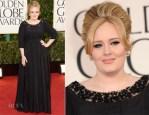 Adele In Burberry - 2013 Golden Globe Awards