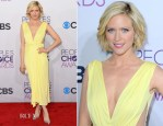 Brittany Snow In Maria Lucia Hohan - 2013 People's Choice Awards