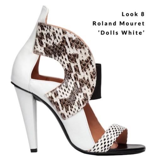 Look 8 - Roland Mouret 'Dolls White'