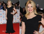 Holly Willoughby In Roland Mouret - 2013 National Television Awards