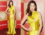 Michelle Monaghan In Vera Wang - Warner Bros. And InStyle Golden Globe Awards After Party