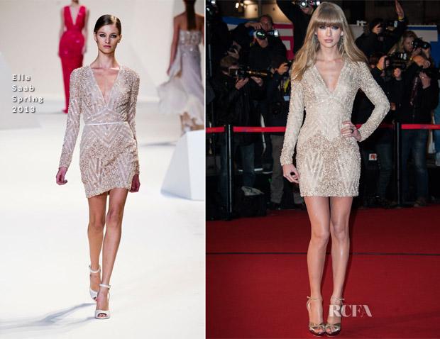 Taylor Swift In Elie Saab - 2013 NRJ Music Awards