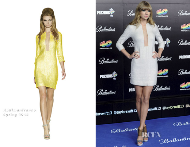 Taylor Swift In Kaufmanfranco - 40 Principales Music Awards