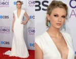 Taylor Swift  In Ralph Lauren - 2013 People's Choice Awards