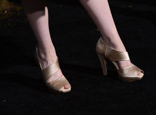 Alice Englert's shoes