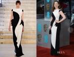 Hayley Atwell In Antonio Berardi - 2013 BAFTA Awards