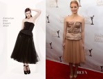Jessica Chastain In Christian Dior - 2013 Writers' Guild Awards