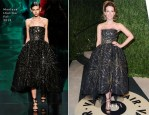 Kate Beckinsale In Monique Lhuillier - 2013 Vanity Fair Party