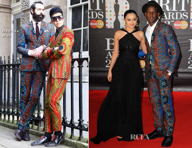 Labrinth In Dent de Man - 2013 Brit Awards