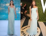Naomie Harris In Monique Lhuillier  - 2013 Vanity Fair Party