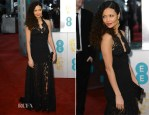 Thandie Newton In Louis Vuitton-2013 BAFTA Awards