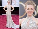 Amanda Seyfried In Alexander McQueen – 2013 Oscars