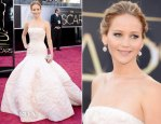 Jennifer Lawrence In Christian Dior Couture – 2013 Oscars