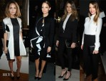 Paris Fashion Week Front Row Trend: Black and White