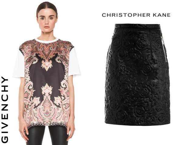 Kate Waterhouse In Givenchy & Christopher Kane