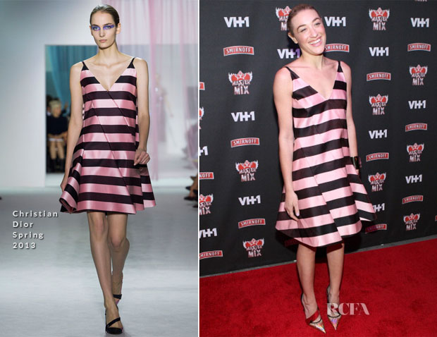 Mia Moretti In Christian Dior - 'Masters Of The Mix' Season 3 Premiere