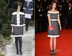 Astrid Berges-Frisbey In Chanel Couture -  'Only God Forgives' Cannes Film Festival Premiere