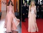 Doutzen Kroes In Atelier Versace - 'Le Passe' Cannes Film Festival Premiere