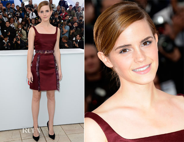 Emma Watson In Christopher Kane - 'The Bling Ring' Cannes Film Festival Photocall