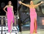 Heidi Klum In Atelier Versace - 'Germany's Next Top Model' Finals