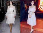 Zhang Ziyi In Valentino Couture - 'Un Certain Regard' Jury Dinner