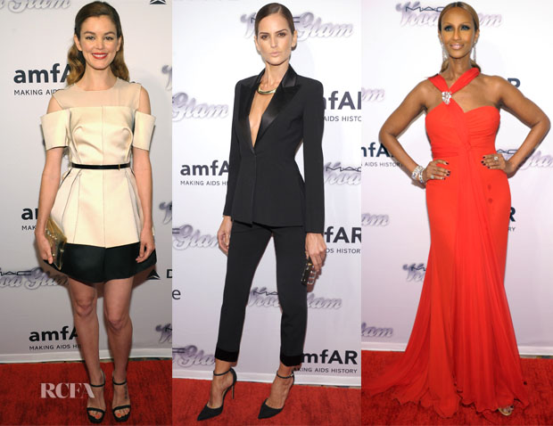 4th Annual amfAR Inspiration Gala New York Red Carpet Round Up