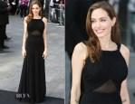 Angelina Jolie In Saint Laurent - 'World War Z' World Premiere