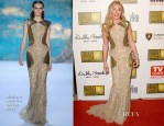 Cat Deeley In Monique Lhuillier - 2013 Critics' Choice Television Awards