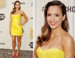 Jessica Alba In Versace - Spike TV's 'Guys Choice Awards 2013'