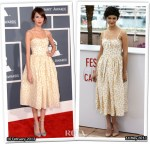 Who Wore RED Valentino Better...Alexa Chung or Audrey Tautou?