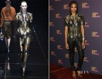 Zoe Saldana In Gucci - 'Chime For Change: The Sound Of Change Live' Concert